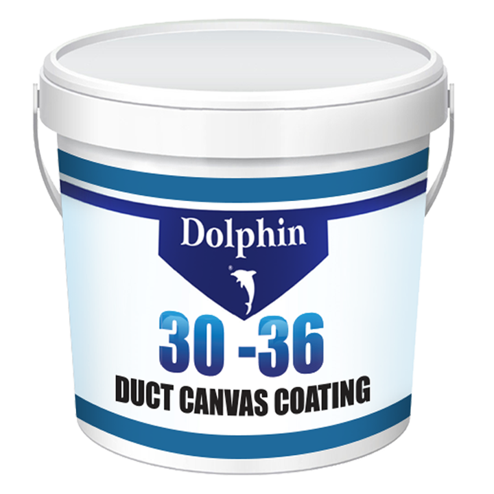 dolphin 30-36 Duct Canvas Coating - 25 KG
