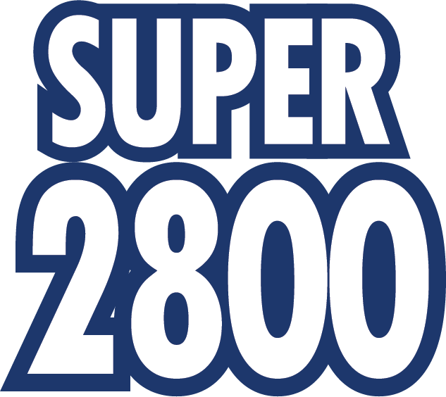 Super 2800 brand - Logo - Blue