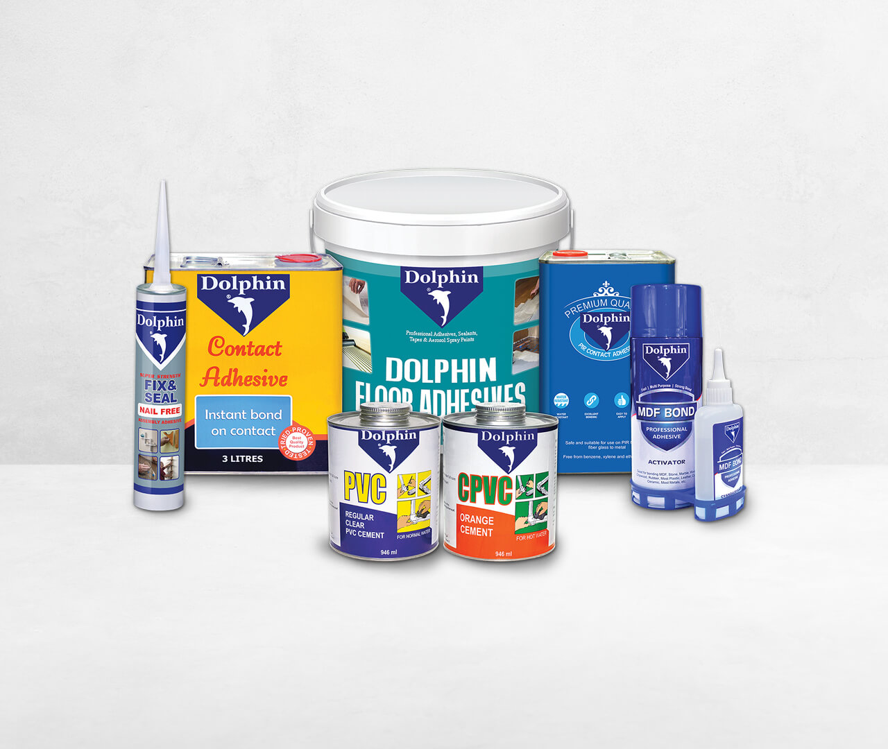 Dolphin Adhesive products